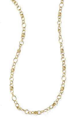 Ippolita Glamazon 18k Gold Classic Link Long Chain Necklace, 33