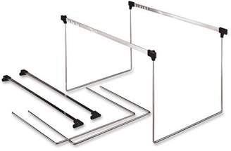 Pendaflex Actionframe Drawer File Frames, Stainless Steel, 2 / Box (Quantity)