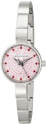 Android (アンドロイド) - Android Women 's ad583apk Mini Star Pave Watch