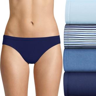 Hanes Ultimate 4-pack Stretch Bikini Panties 42CSWB