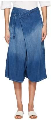 Yohji Yamamoto Y's by M-F Deco Spotted Denim Pants Women's Jeans