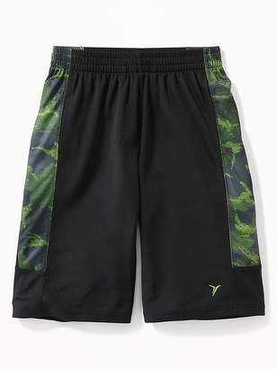 Old Navy Mesh Printed Side-Panel Basketball Shorts for Boys