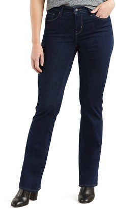 Levi's Levis Women's Curvy Mid-Rise Bootcut Jeans