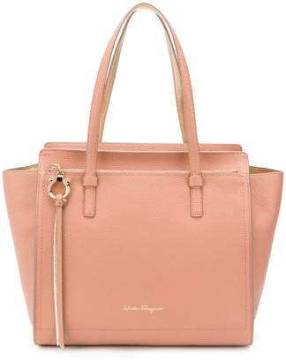 Salvatore Ferragamo Amy gancio small shopping tote