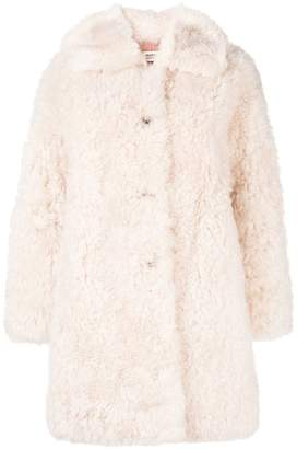 Yves Salomon oversized fur coat