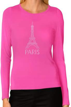 DAY Birger et Mikkelsen Tstars Eiffel Tower Paris Bastille French Patriot Gift Women Long Sleeve T-Shirt