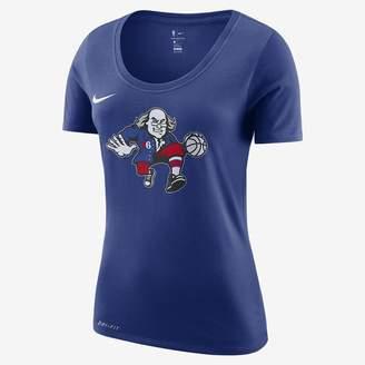 Nike Women's NBA T-Shirt Philadelphia 76ers City Edition Dri-FIT