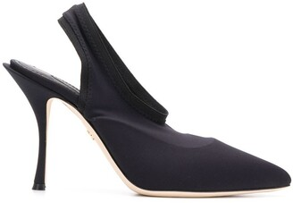 Dolce & Gabbana sling-back pointed pumps