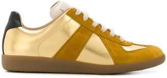 Maison Margiela suede trim sneakers