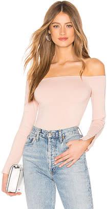 by the way. Ivy Zip Sleeve Bodysuit