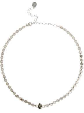 Chan Luu Sterling Silver Pyrite Necklace
