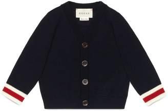 Baby merino Web cardigan sweater $235 thestylecure.com