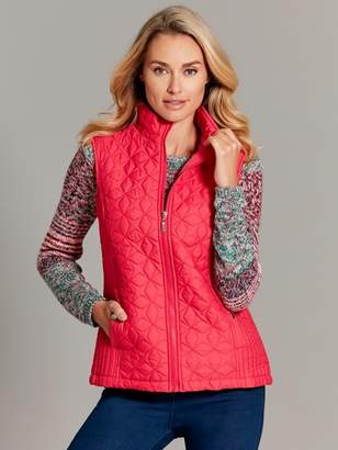 M&Co Quilted gilet