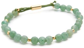 Gorjana Power Aventurine Bracelet for Luck $58 thestylecure.com