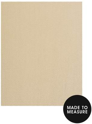 Made To Measure Woven Blackout Eyelet Curtains – Oatmeal