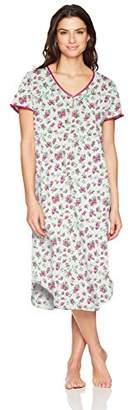 Karen Neuburger Women's Short Sleeve Pullover Nightgown