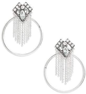 Fringe and Hoop Earrings