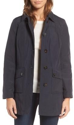 Women's Barbour Eigg Waterproof Jacket $379 thestylecure.com