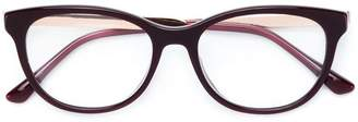 Jimmy Choo Eyewear rectangle frame glasses