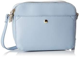 Pimkie Women's Scs18 Crossbowling Top-Handle Bag Blue