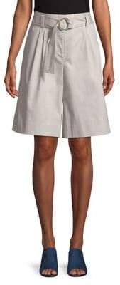 Ellen Tracy The Hampton Belted Wide Leg Shorts