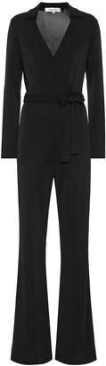 Diane von Furstenberg Aries jersey-blend jumpsuit