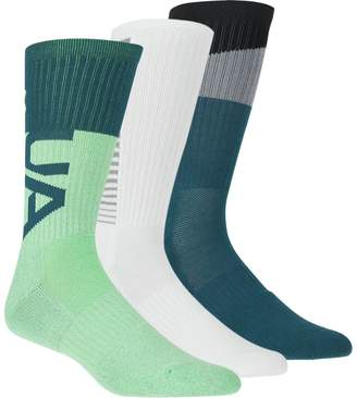 Under Armour Phenom 3.0 Crew Sock - 3-Pack - Men's