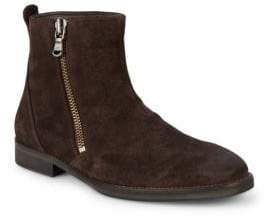 John Varvatos Classic Suede Ankle Boots