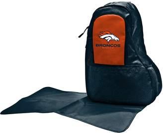 Denver Broncos Lil' Fan Diaper Sling Backpack