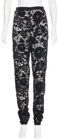 Opening Ceremony Opening Ceremony Lace Skinny Leggings