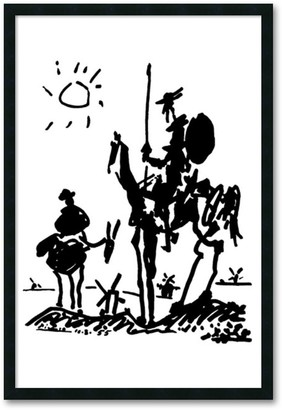 """Amanti Art """"Don Quixote"""" Framed Wall Art by Pablo Picasso"""