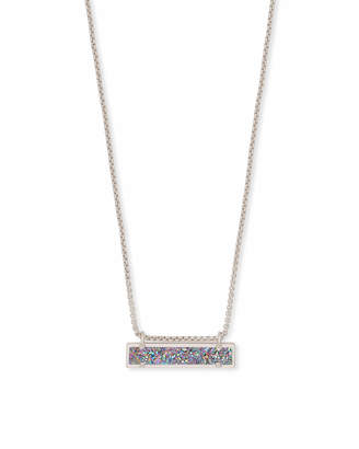 Kendra Scott Leanor Pendant Necklace in Silver