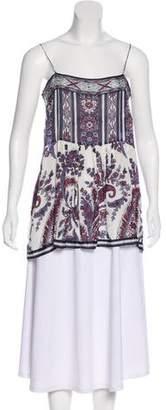 Etoile Isabel Marant Sleeveless Print Top w/ Tags