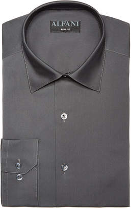Alfani AlfaTech by Men's Solid Classic/Regular Fit Dress Shirt