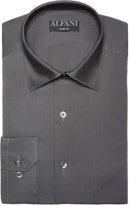 Alfani AlfaTech by Men Solid Classic/Regular Fit Dress Shirt