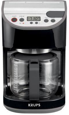 Krups Black Precision Coffee Machine