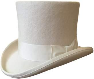 "Hanshow Wool Felt Men Top Hat Wedding Mad Hatter 7"" Tall Topper Hats (L = 59cm (7 3/8))"
