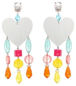 Miu MiuMiu Miu Mirrored clip-on earrings