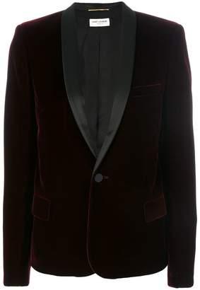 Saint Laurent Le Smoking single-breasted jacket