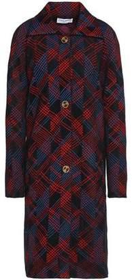 Sonia Rykiel Checked Bouclé Coat