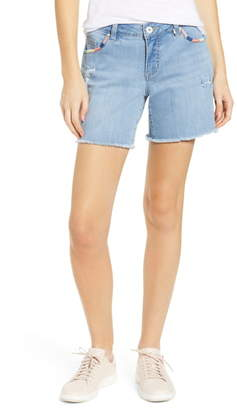 Jag Jeans Carter Whipstitch Denim Shorts
