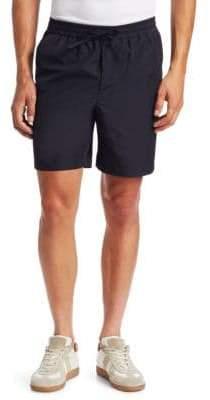 Ami Cotton Drawstring Waist Shorts
