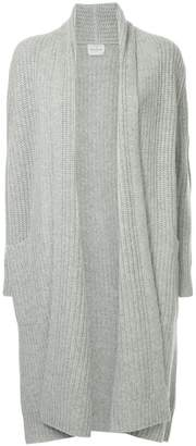 Le Kasha ribbed open front cardigan