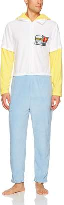Briefly Stated Men's the Simpson's Homer Hooded Unionsuit
