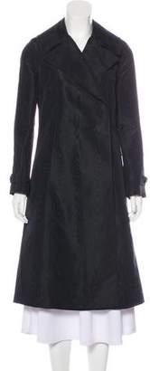 Bottega Veneta Silk Long Coat