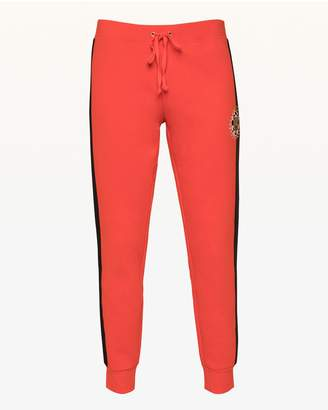 Juicy Couture Luxe Tiger Patch Fleece Zuma Pant