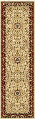 "Km Home Closeout! Km Home Sanford Clarion 2'3"" x 7'7"" Runner Rug, Created for Macy's"