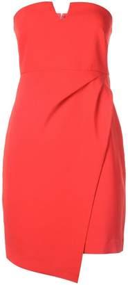 LIKELY bandeau wrap mini dress
