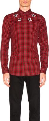Givenchy Plaid Shirt $535 thestylecure.com
