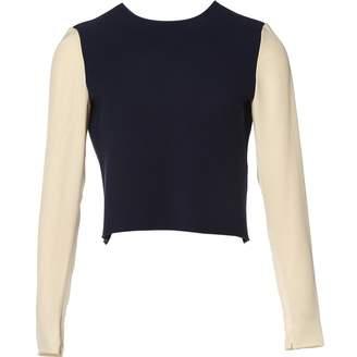 Roksanda Ilincic Navy Silk Top for Women